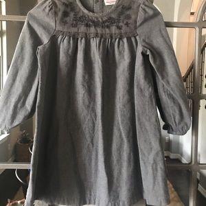 Little Girls grey dress